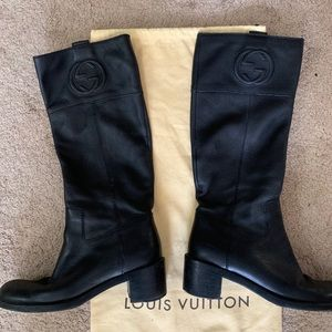 💎PRICE DROP !GUCCI Leather soho boots 9👢